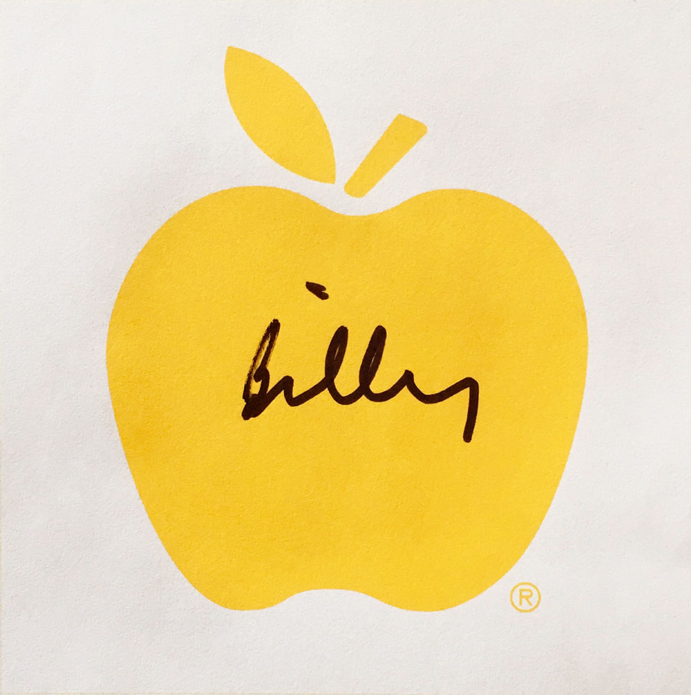APPLE Billy Apple for Youth Suicide 2018 v2